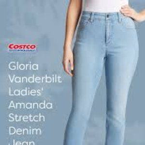 Gloria Vanderbilt Amanda Stretch Denim Jeans